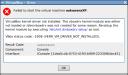 VERR_VM_DRIVER_NOT_INSTALLED
