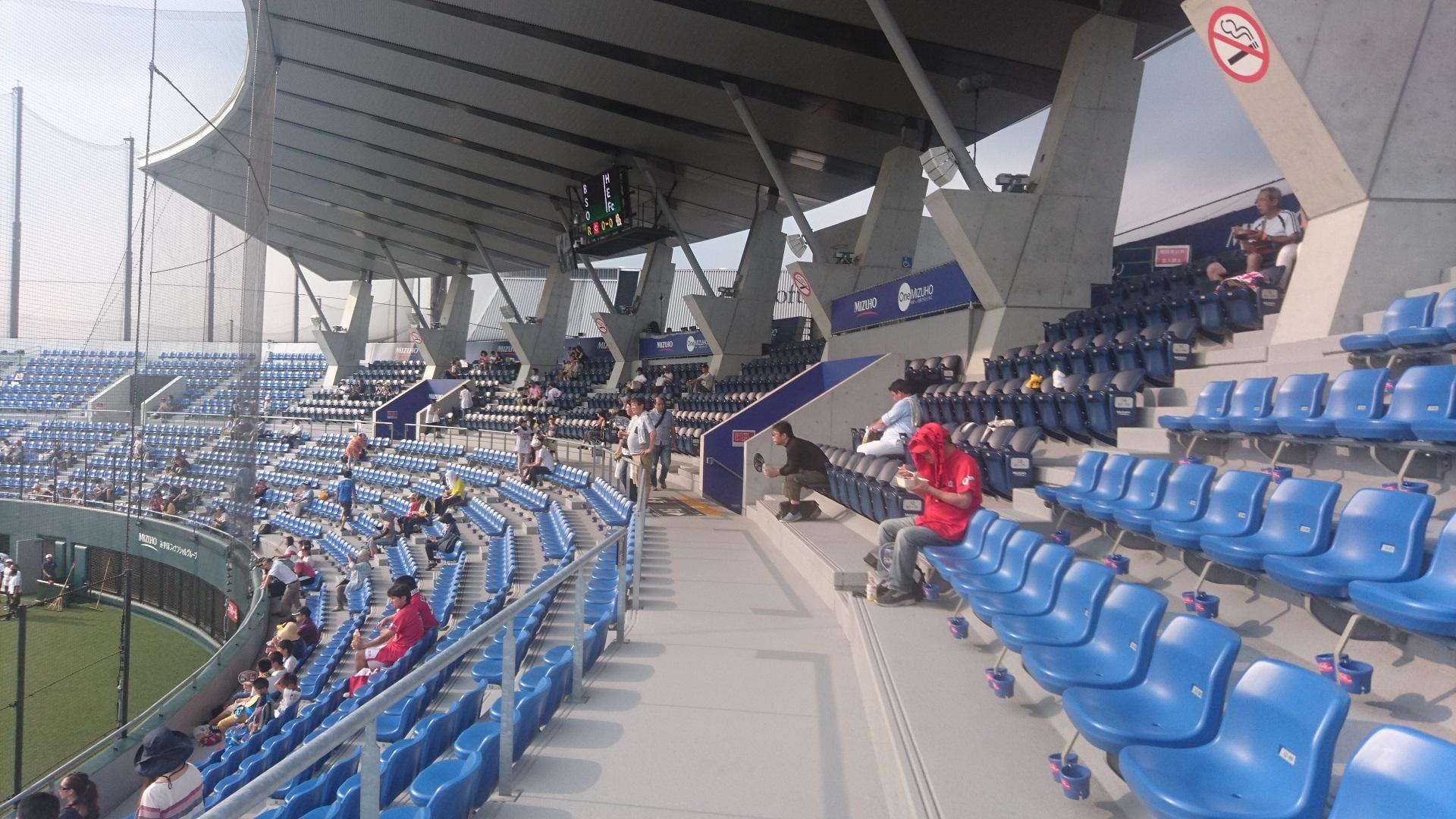 タマホームスタジアム筑後 座席1